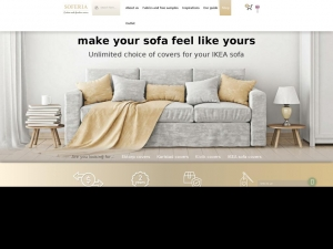 Perfect cover for a sofa from Ikea